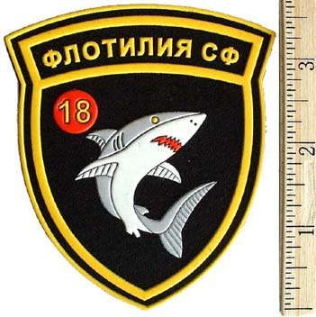 18th Flotilla of the Northern Fleet. Shark.