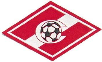Football club Spartak, Moscow. Official patch. 1.5x3 inch.
