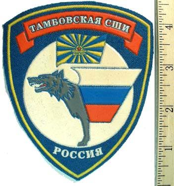 Patch for Special Boarding School of Tambov city.