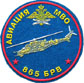 Sleeve Patch for 865th Brigade of Helicopters of Moscow Military Region.