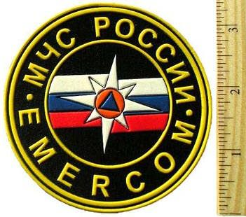 Sleeve Patch for Ministry of Extraordinary (Extreme) Situations (EMERCOM) Large