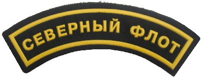 Northern Fleet arc upper sleeve patch