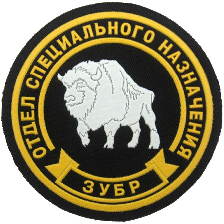 Special purpose detachment Zubr (Bison). 4 inches.