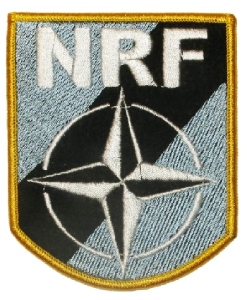 Patch for NATO Response Force NRF